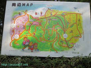 葛城山 周辺map
